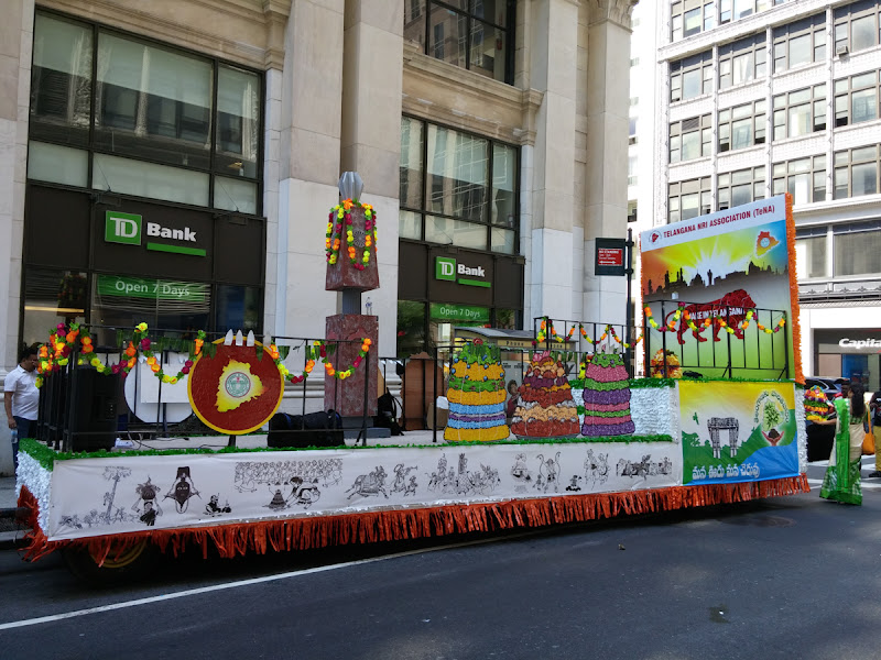 Telangana State Float at India Day Parade NY 2015 - 20150816_114951.jpg