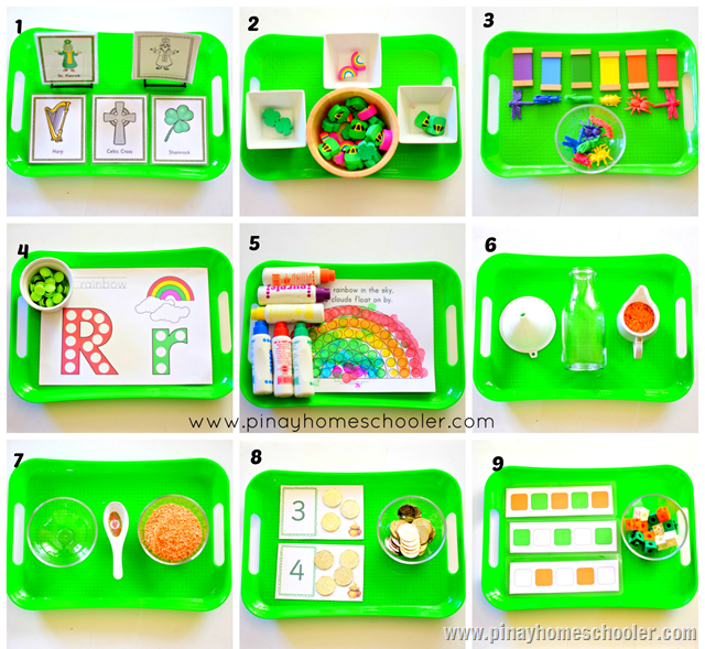 St. Patrick's Day Activities for 28 Months Toddler