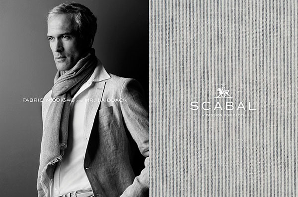 Meet All the Scabal Men Here!