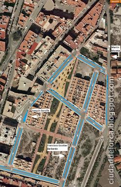 Zona Ana Caicedo-Martin Morata - aparcamientos