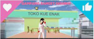 ID Toko Kue di Sakura School Simulator Dapatkan Disini Aja