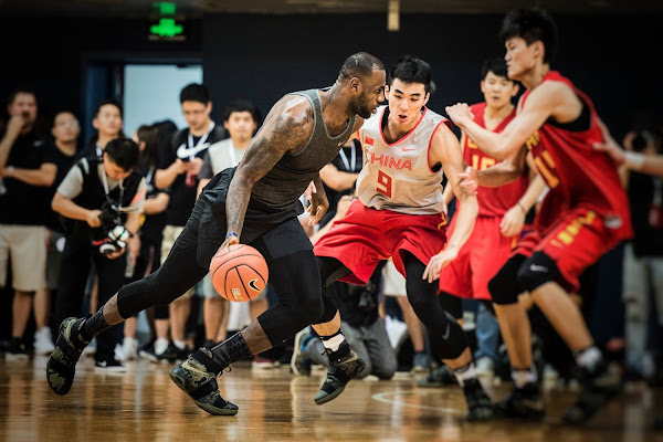 LeBron James Debuts Camo Soldier 10 During China Trip