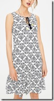 Boden Printed Jersey Dress