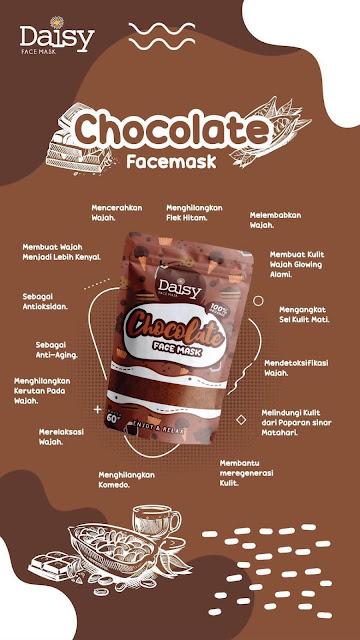 Daisy Organic Face Mask Chocolate