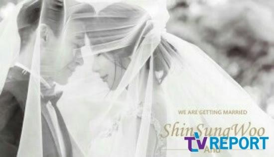 신성우 결혼 웨딩화보