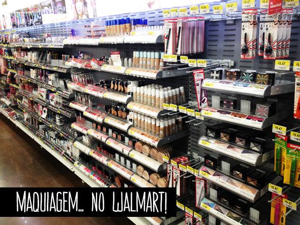 Comprando maquiagem... no Walmart! - Lu Ferreira   Chata de Galocha! bdad25143a