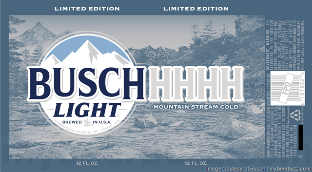 Bush & Busch Light Adding BuschHHHH Cans