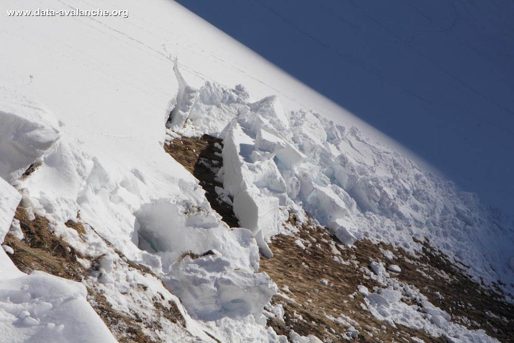 Avalanche Haute Maurienne, secteur La Norma, Belle Plinier - Ruisseau de Saint Antoine - Photo 1 - © Duclos Alain