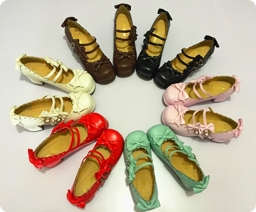 Japanese-Tea-party-shoes-Lovers-Harajuku-Lolita-Bow-Shoes-Lace-High-heeled-Shoes-Love-Laser-womens