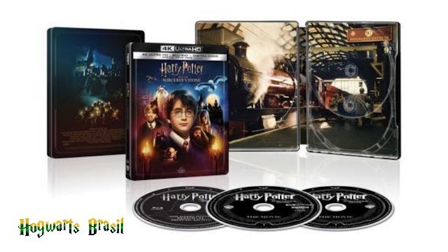 Harry Potter e a Pedra Filosofal será lançada em versão remasterizada com Magic Movie Mode para comemoração de 20 anos