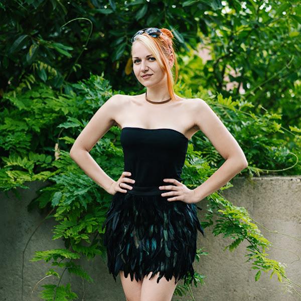 OOTD Antonia: Black Bird