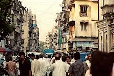 Metal worker on the street in Mumbai