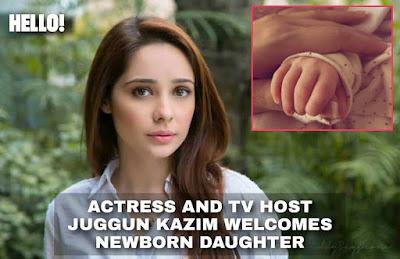 Juggun Kazim New Born Daughter