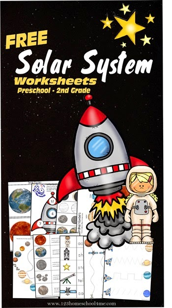 Soalr System Worksheets
