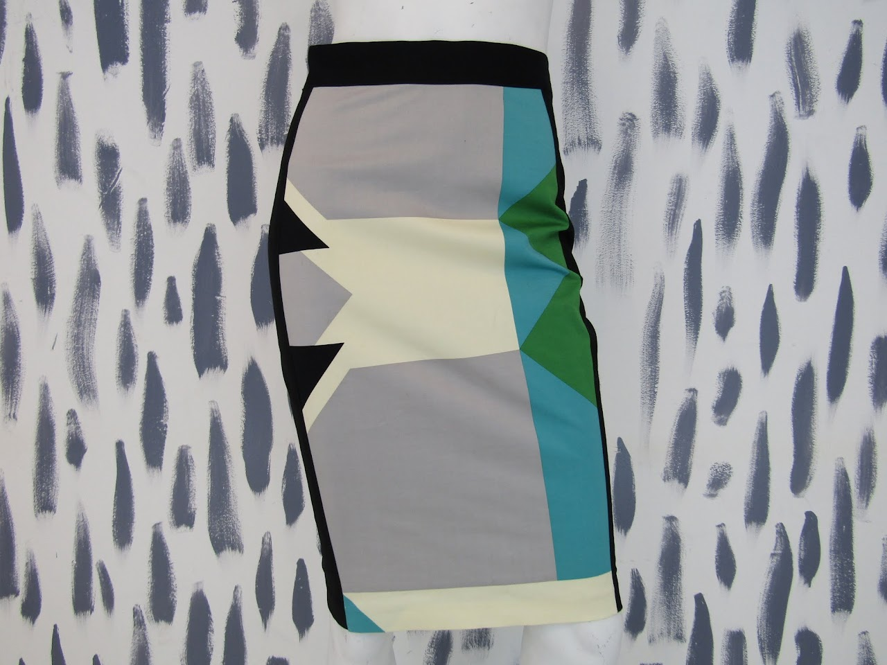 Derek Lam Geometric Skirt