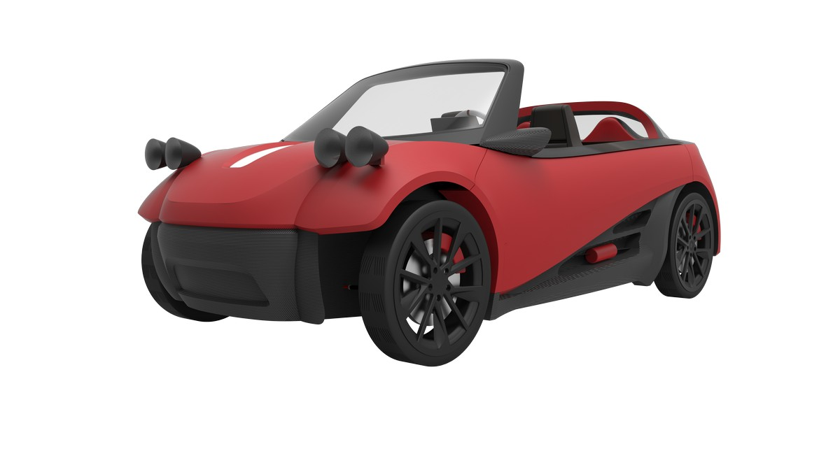 Local Motors Lm3d World S First 3d Printed Car Series
