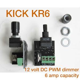 12v Dimmer Switch >> Hometary 12v Led Dimmer Switch Led Downlight Installation