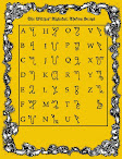 Magical Scripts and Cipher Alphabets