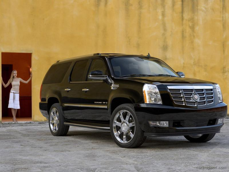2008 cadillac escalade esv suv specifications pictures prices. Black Bedroom Furniture Sets. Home Design Ideas