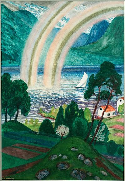 Nikolai Astrup - Large Rainbow