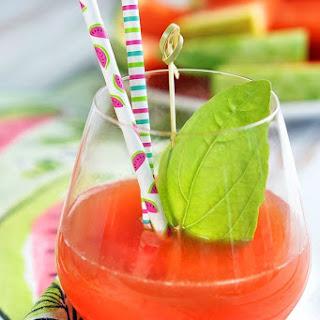Sparkling Savannah Watermelon Cocktail.