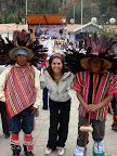 Vasilia with Tribal Dancers (Chavin, Peru)