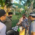 Dapat Bantuan Modal Usaha dari At-taubah Peduli, Penjual Bubur dan Penjual Jilbab Menangis