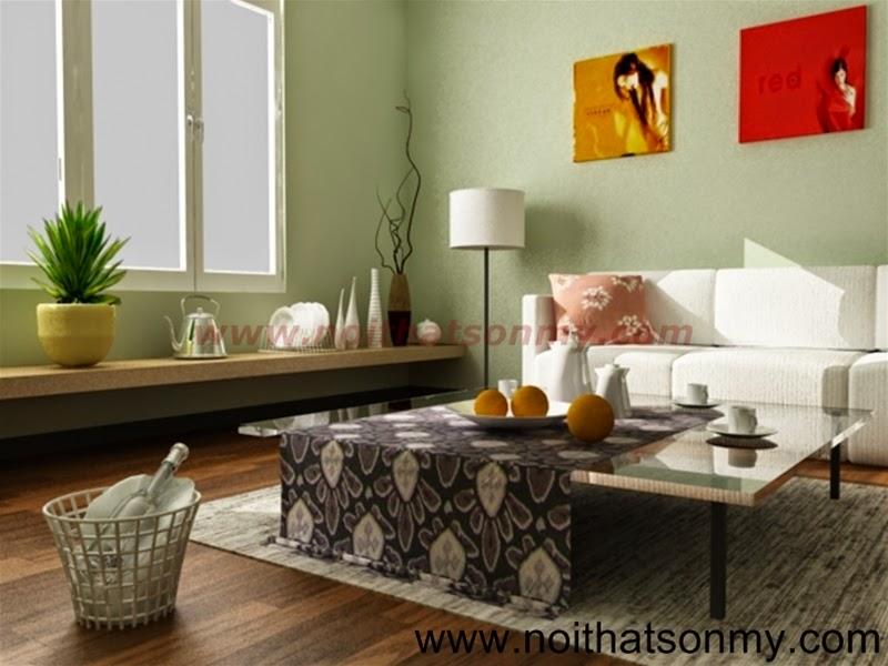 Mẫu thiết kế nội thất phòng khách 320