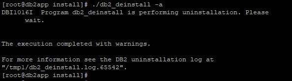 db2_deinnstall