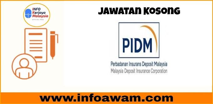 Jawatan Kosong Terkini Di Perbadanan Insurans Deposit Malaysia PIDM