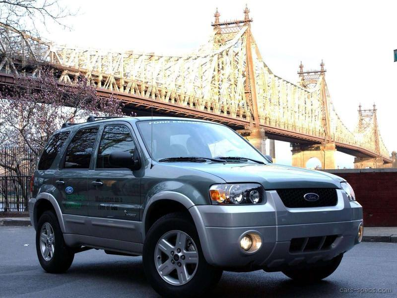 2006 ford escape hybrid suv specifications pictures prices. Black Bedroom Furniture Sets. Home Design Ideas