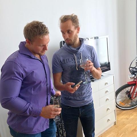 welldressed men Swedish men