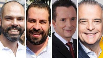 Pesquisa Datafolha em São Paulo: Covas, 32%; Boulos, 16%; Russomanno, 14%; França, 12%