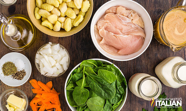 chicken and gnocchi soup recipe ingredients