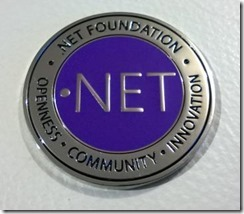 .NET Foundation medal