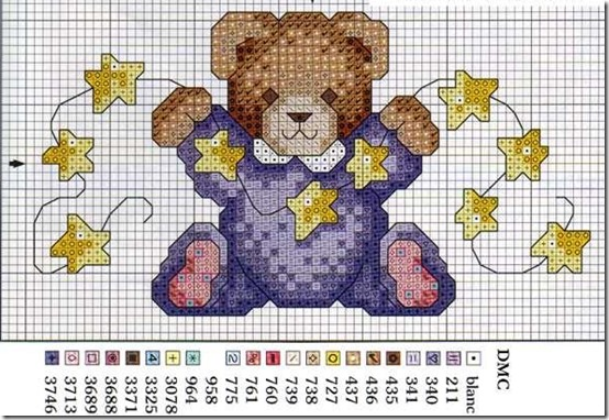 osos punto cruz (7)