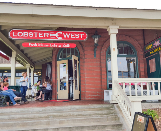photo of the outside of Lobster West