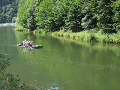 Rafting ins Pieniny mountains