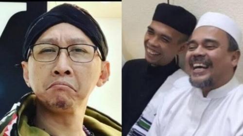 Abu Janda Enggan Masuk Surga Jika Ada Habib Rizieq, UAS hingga Tengku Zul