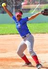 Guazarera Angela Gómez se la lució en Softbol Femenino  Tiró dos no-hitter en los juego escolares