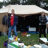 We hebben dit kamp een hulp staflid gehad ...