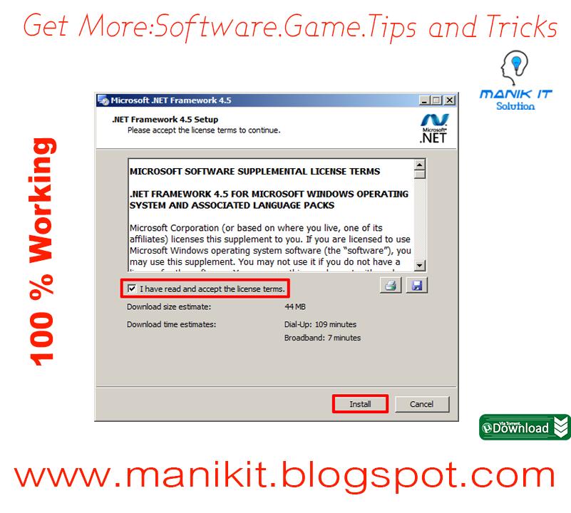 net framework download windows 7