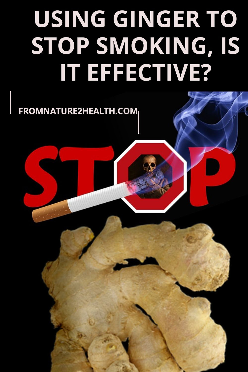 Why do you need to consider the benefits of ginger to stop smoking?