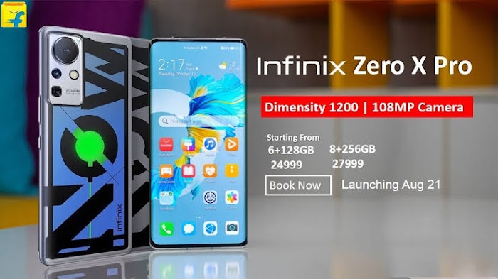 Infinix Zero X Pro Coming Up With Triple Camera 108MP - Full Specifications