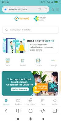 SehatQ.Com Panduan Untuk Hidup Sehat yang mudah untuk dipahami
