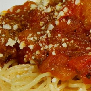 Jeanne's Slow Cooker Spaghetti Sauce.