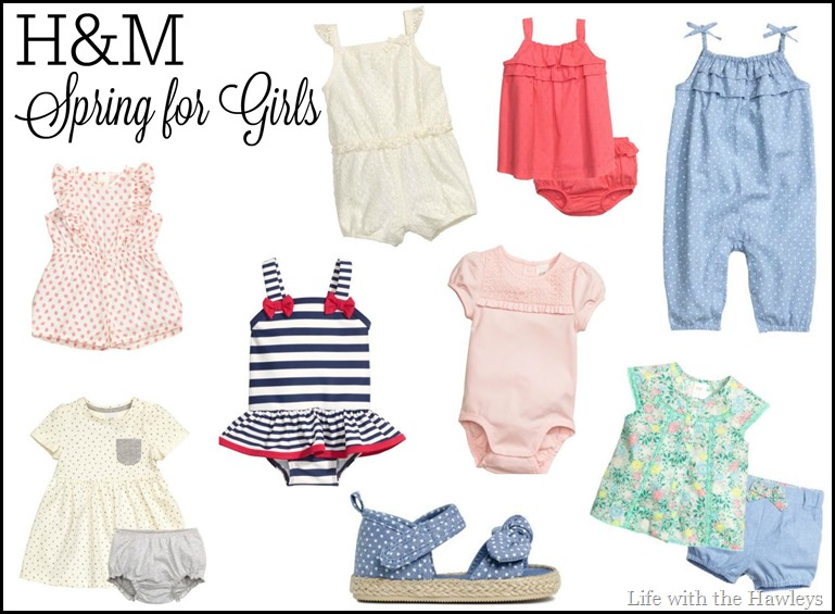 H&M Spring for Girls