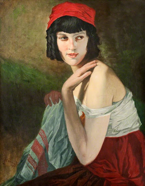 William Strang - Italian Girl
