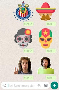 Stickers Mexicanos para WhatsApp Screenshot