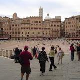 "Sienna's world famous ""Il Campo"" Square"